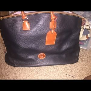 Dooney and Bourke 2 piece overnight bag set